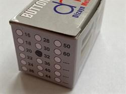 Насадка для обтяжки пуговиц тканью 32L(19мм) - фото 6396