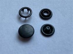 Кнопка ОКСИД металлическая 9,5мм с КРЫШКОЙ - фото 6430