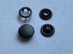 Кнопка ОКСИД металлическая 9,5мм с КРЫШКОЙ